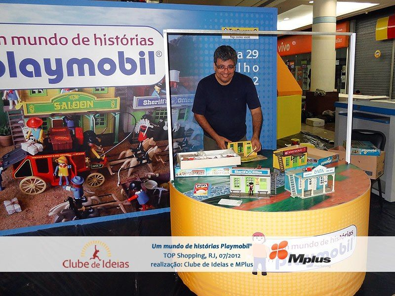 'Making of' - O olho do dono engorda o cavalo... virada na madrugada para a montagem do evento e dos dioramas... — com César Ojeda e Fórum PlayBrasilmobil em Iguaçu Top Shopping.