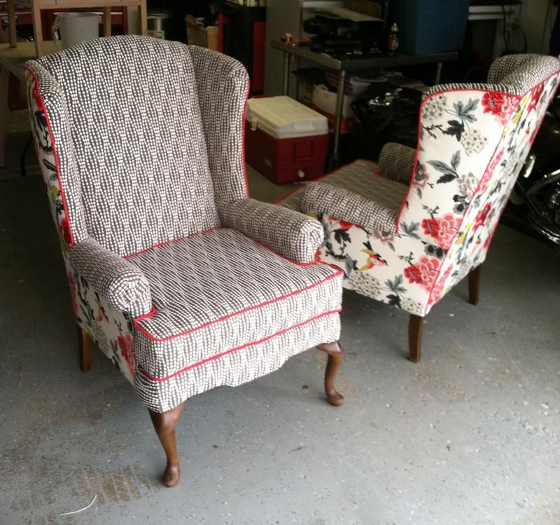 Upholstery Fabric Waverly Strands Charcoal At Joann Com Wing Back Chairs Reupholster Upholstered Furniture Reupholster Chair