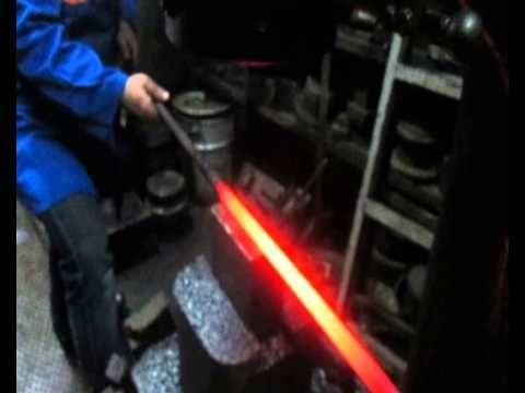▶ Turk Burgusu (Turkish Twist) Damascus -1- - YouTube
