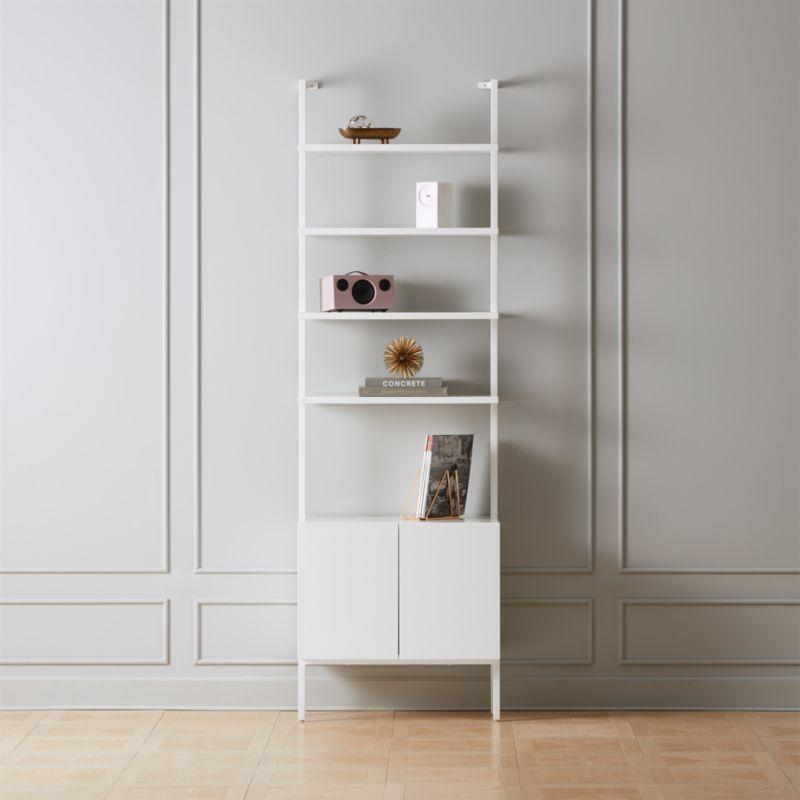 Pin On Liz Apt #white #living #room #storage #cabinets