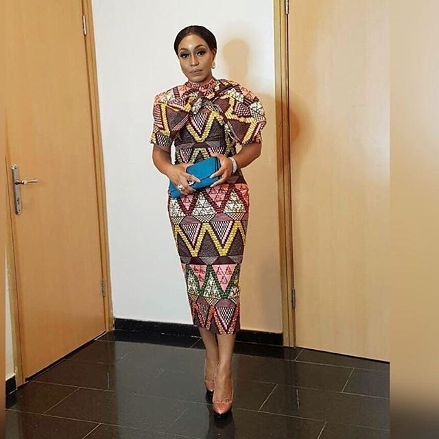 celebrity slay queens in ankara styles, these ankara styles would let you  slay in 2018