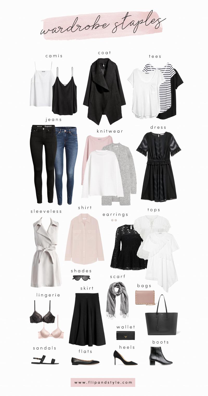 Capsule Wardrobe Staples For 2018 #wardrobebasicscasual | style _ ...