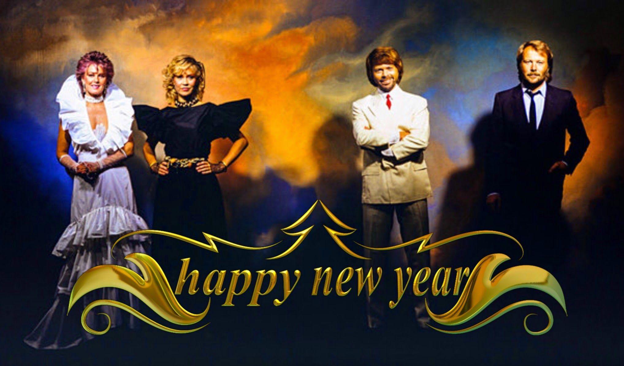 Abba Happy New Year... Abba happy new year, Happy new