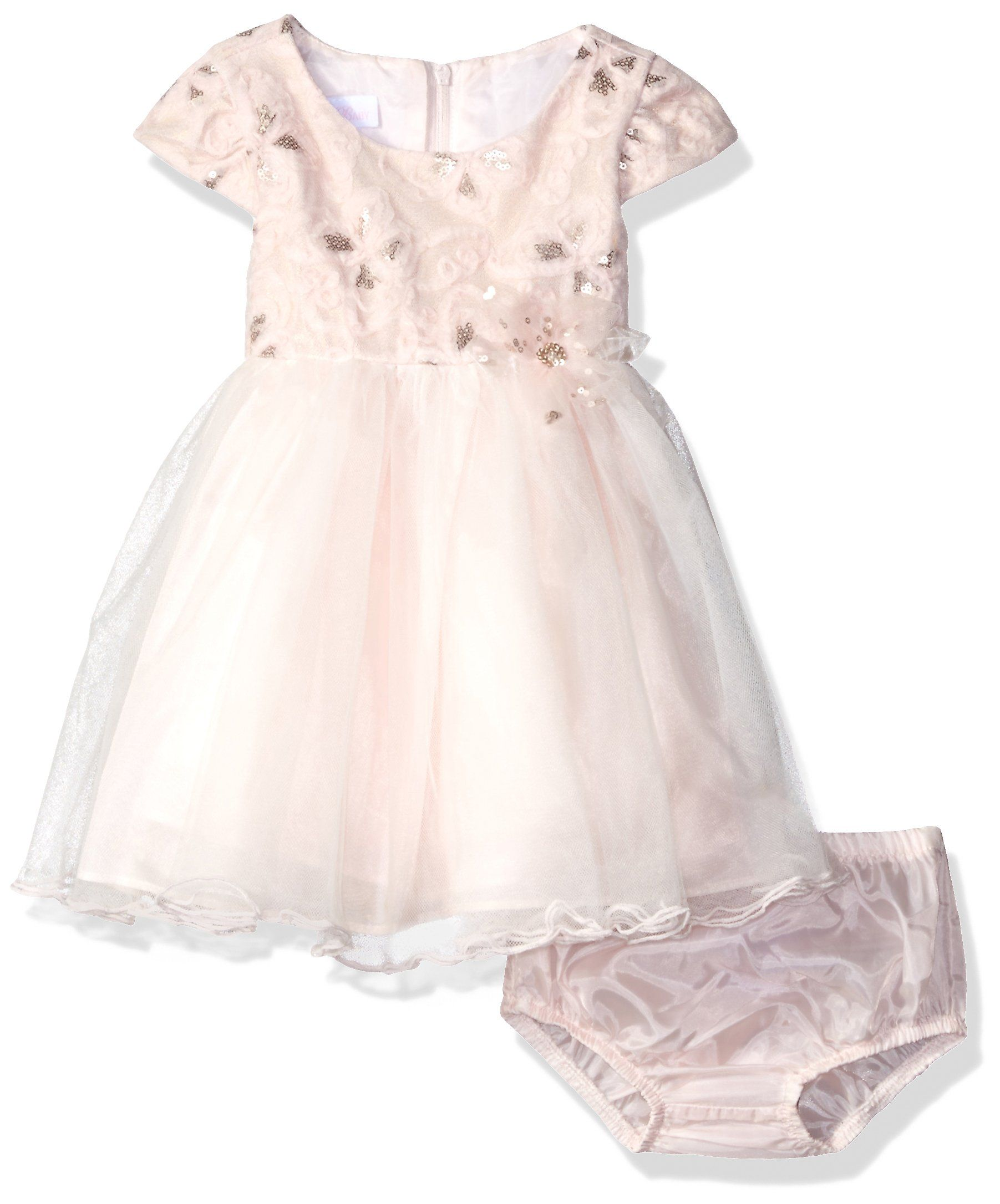 d605bfdece9 Bonnie Baby Baby Sequin Embroidered Ballerina Dress Pink 12 Months --  Proceed to the product at the picture web link. (This is an affiliate link).