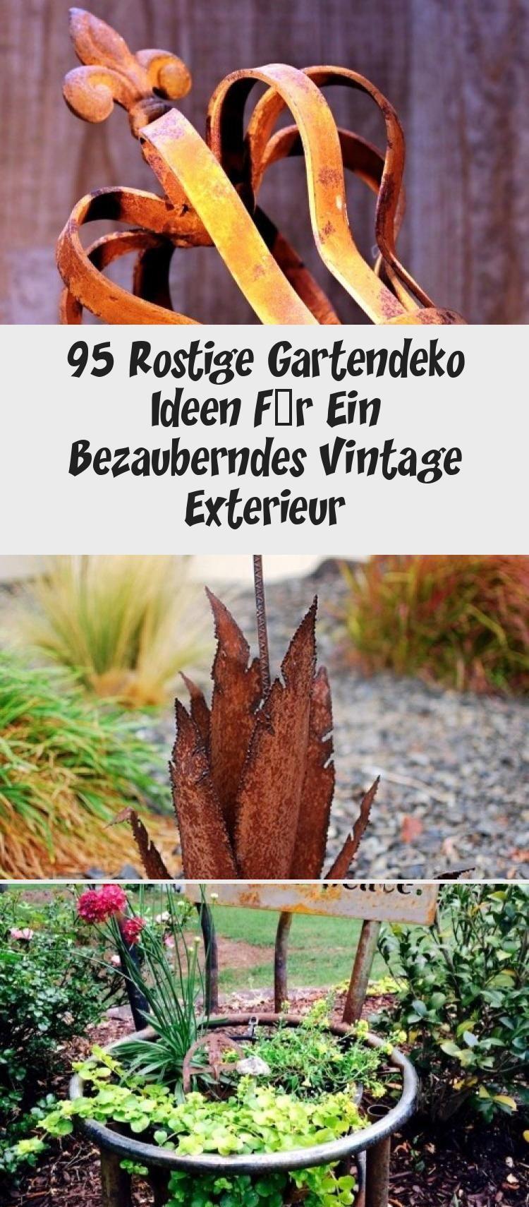 95 Rostige Gartendeko Ideen Fur Ein Bezauberndes Vintage Exterieur Green Beans Plants Green