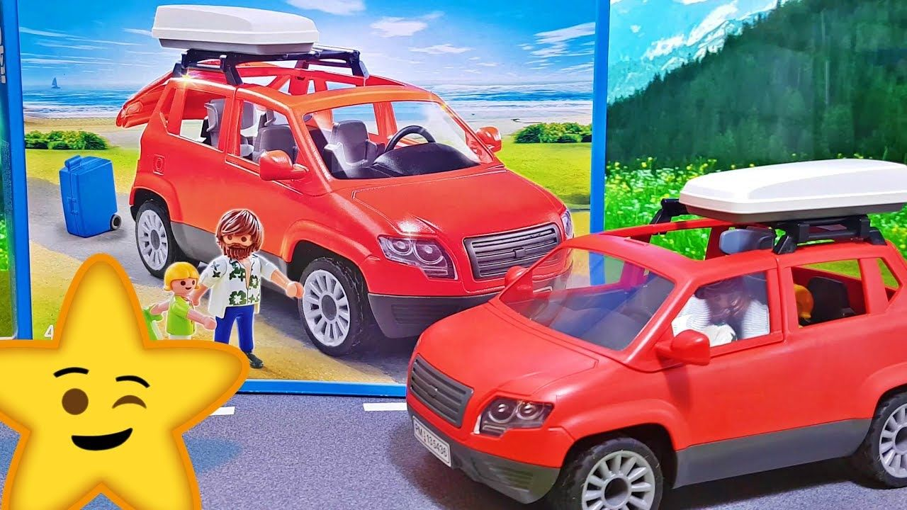 Playmobil Keuken 9269 : Playmobil rotes familienauto suv van 5436: wir packen das playmobil