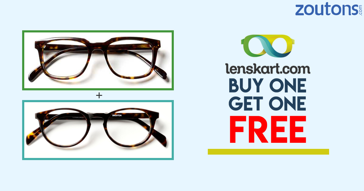 4c91237f264 Grab Buy one Get one offer on lenskart. You can look for other lenskart  offers