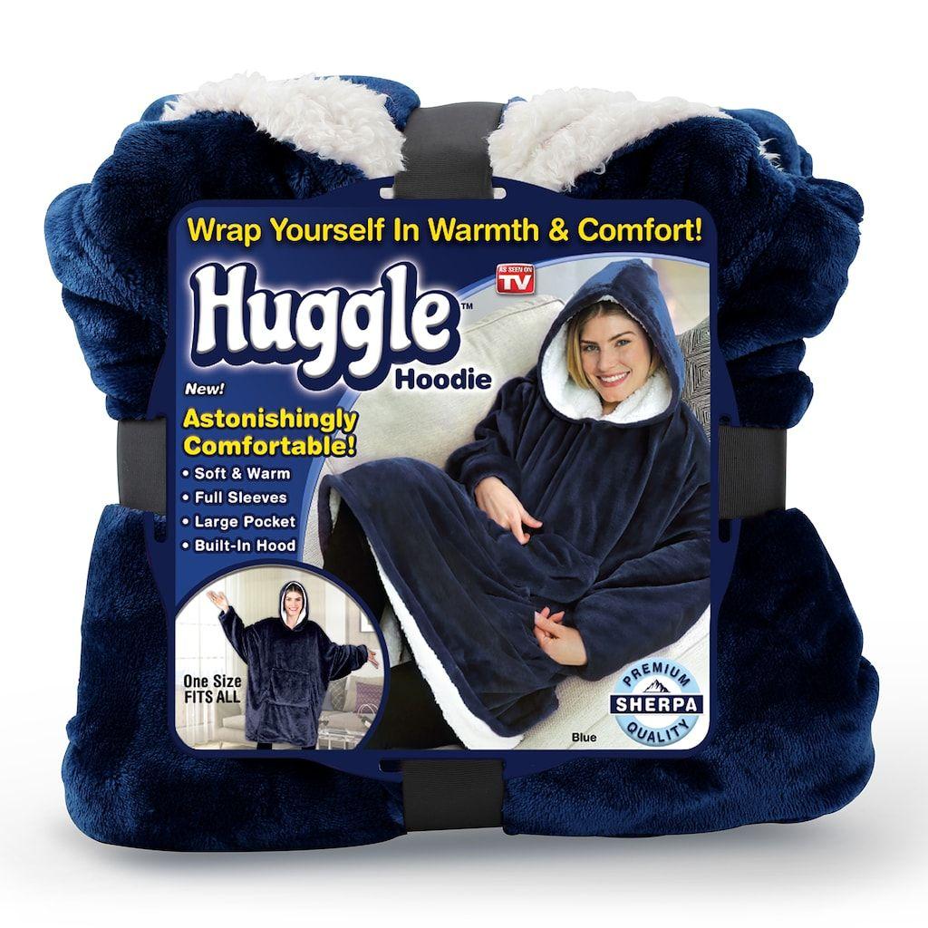 As Seen On Tv Huggle Blanket Hoodie Hoodies See On Tv No Sew