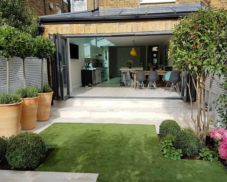 Wandsworth Garden Club London Garden Design London Back Garden Design Courtyard Gardens Design