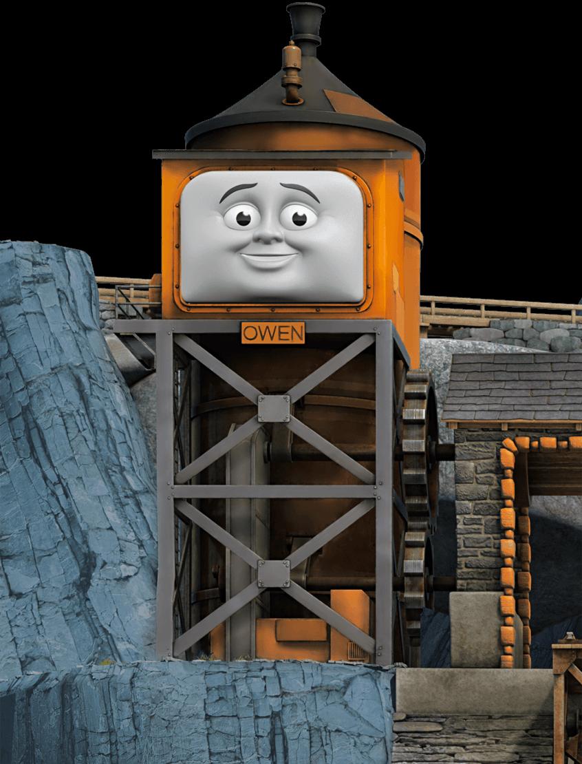 Owen Box Character Narrow Gage Trains Thomas His Friends