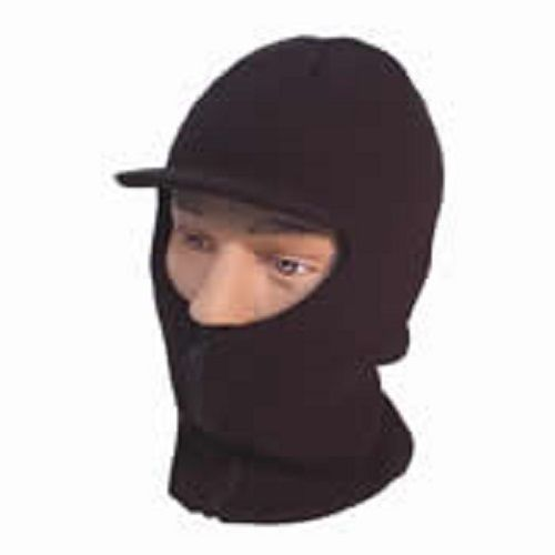 Men s winter Open Face Thermal Balaclava- Peak & front zip - for severe weather