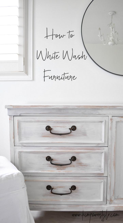 white wash furniture. Chalk Paint · How To White Wash Furniture I
