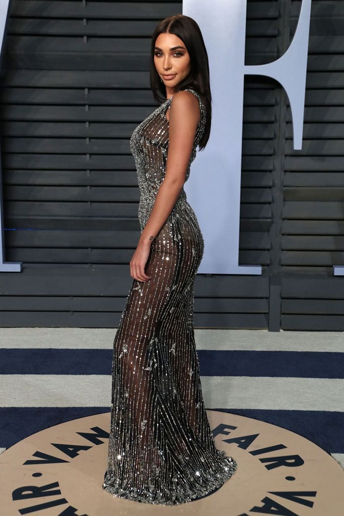 Chantel Jeffries at Vanity Fair Oscar Party in Beverly Hills – March ...