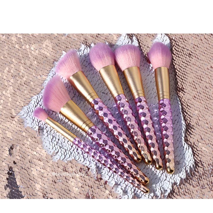 unicorn brush sets. slmissglam fairytale unicorn love, mermaid glam, sparkle, macaron brush sets \u2013 beatfacefridayy