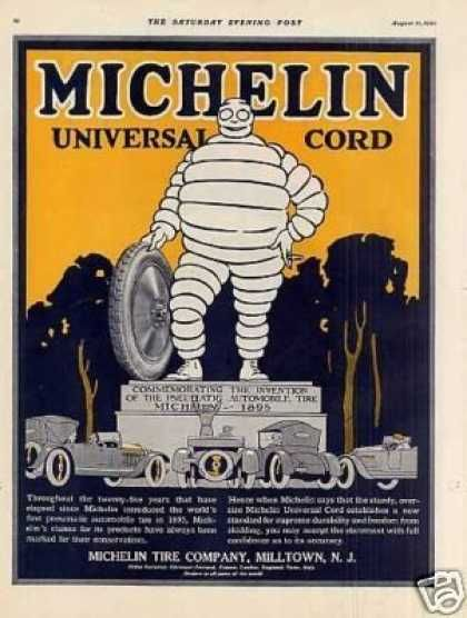 Calendario Michelin.Michelin Tire Color 1920 Old Ads And Other Nifty History