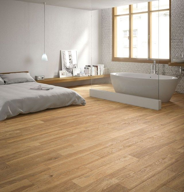 Dif cil distinguir a simple vista si un suelo es realmente - Suelo de ceramica imitacion madera ...