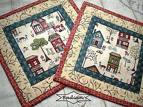 Úžitkový textil - Around Town ... No.1  ( 2 ks ) - 4925987_