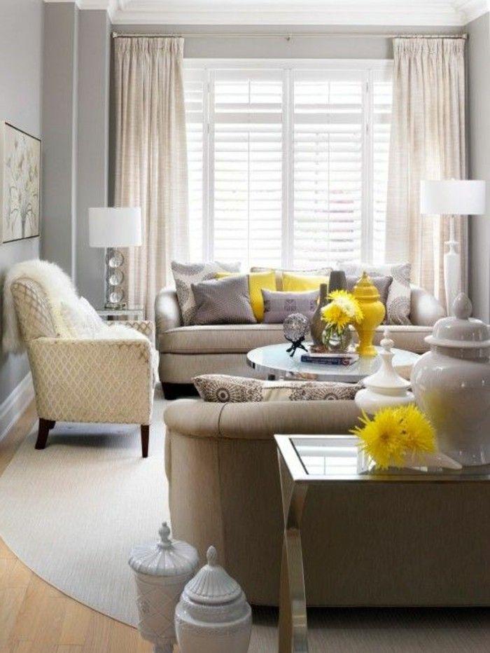 Design Wohnzimmer Lampen Und Kissen