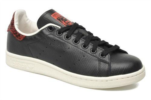 magasin d'usine ea4c2 75ada Adidas Stan Smith black Python | Sneakerz | Original stan ...
