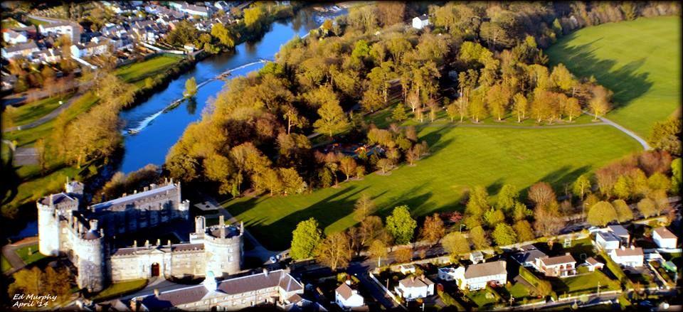 ariel photo of Kilkenny by Ed Murphy