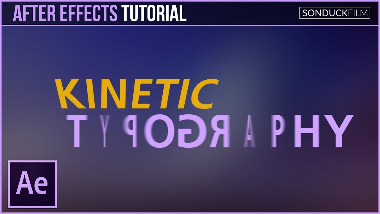 After Effects Tutorial Kinetic Typography Motion Graphics Motion Graphics Tutorial After Effect Tutorial Adobe After Effects Tutorials