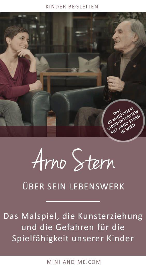 Arno Stern über das Malspiel, Kunsterziehung und die Gefahren für ...