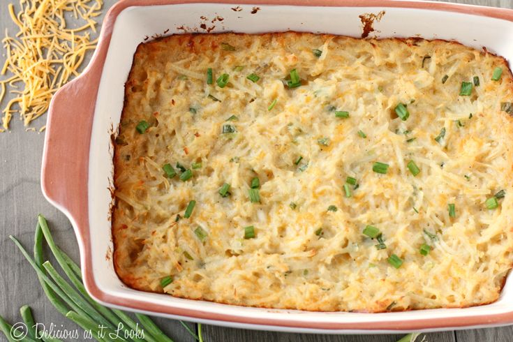 Cheesy Hash Brown Casserole Recipe (With images
