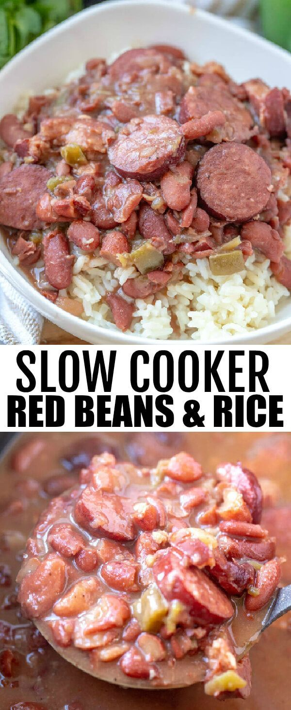 Photo of Slow Cooker Red Beans and Rice – Tornadough Alli