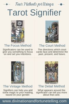 Photo of How to Use a Tarot Significator  — Lisa Boswell