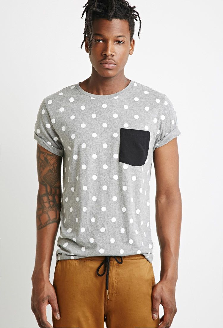 d22da647ed4 Polka Dot Tee - T-Shirts + Vests - 2000053326 - Forever 21 EU English