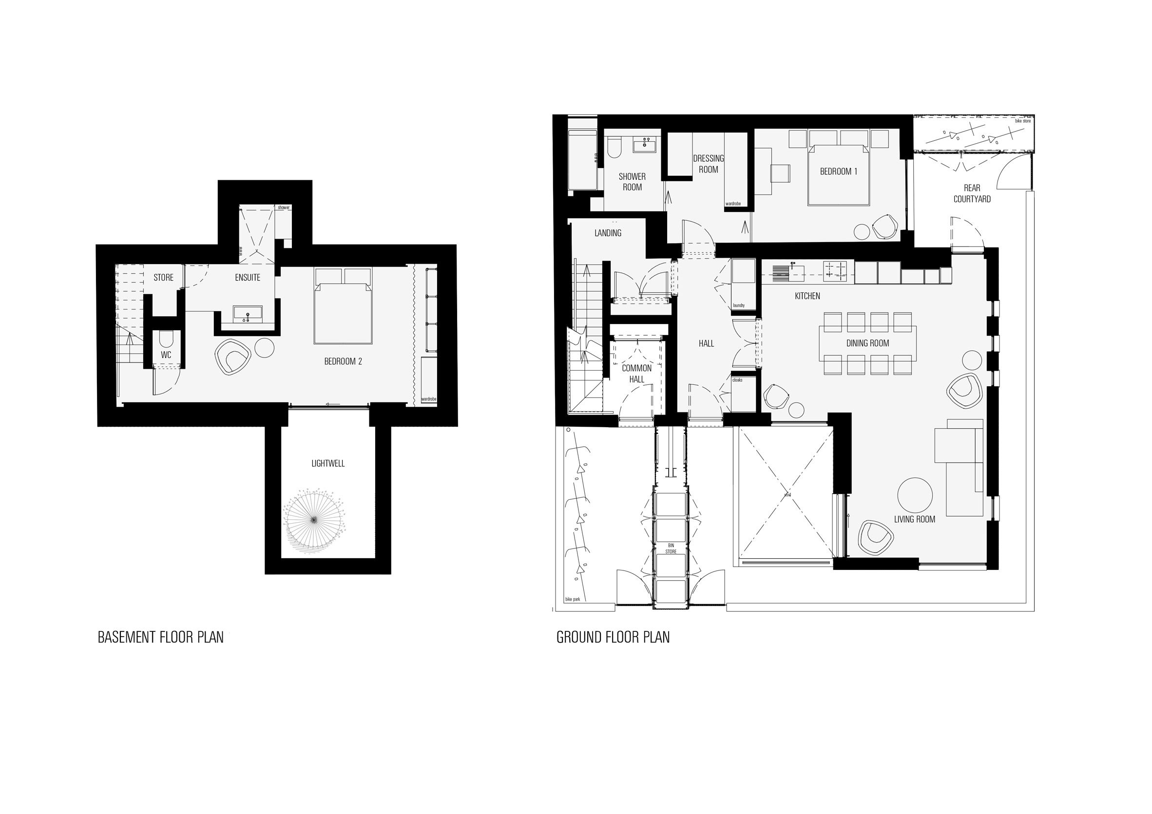 Pin By Thanh Ly On Floor Plans Floor Plans Basement Floor Plans Ground Floor Plan