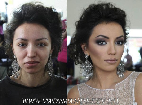 Crazy Difference Before And After Makeup Look Like Completely