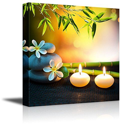 Wall26 - Canvas Prints Wall Art - Relaxing Spa with Zen Stones ...