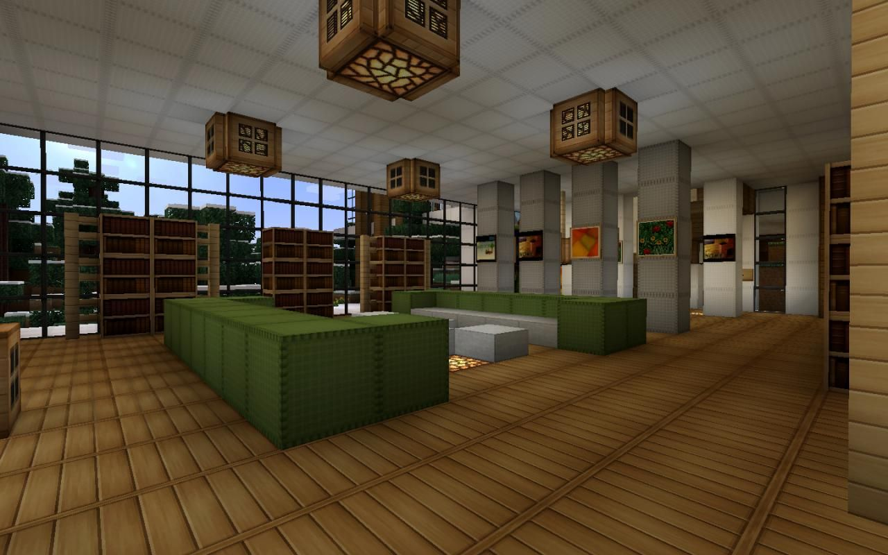 minecraft interior design ideas xbox | Minecraft interior ...