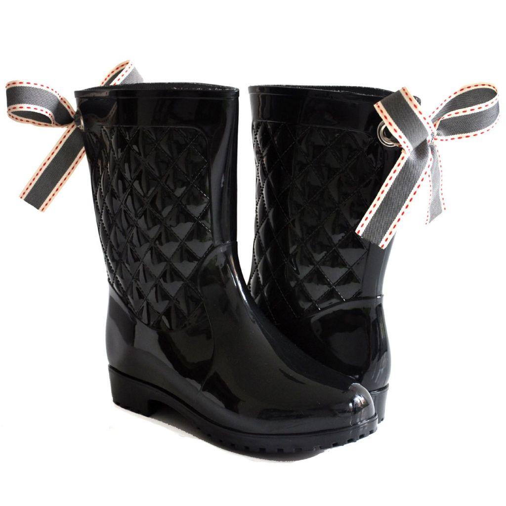 Sale Kalosze Czarne Z Kokarda Meliski R 39 3798785968 Oficjalne Archiwum Allegro Boots Winter Boot Shoes