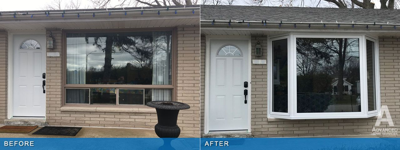 Pin By Advanced Home Services On Bay Windows Window Installation Kent Homes Bay Window