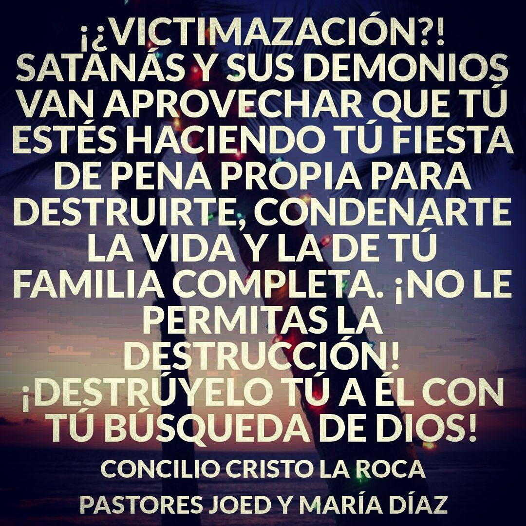 ¡Destruye a satanás con tú búsqueda de Dios!