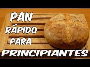 """No te pierdas esta receta fácil para elaborar un pan casero de forma simple y que seguro que el resultado te gusta. Si te gusta el vídeo por favor dale a """"ME..."""