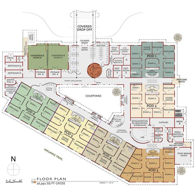 Hospital plan layout in 2020 Hospital plans, Hospital