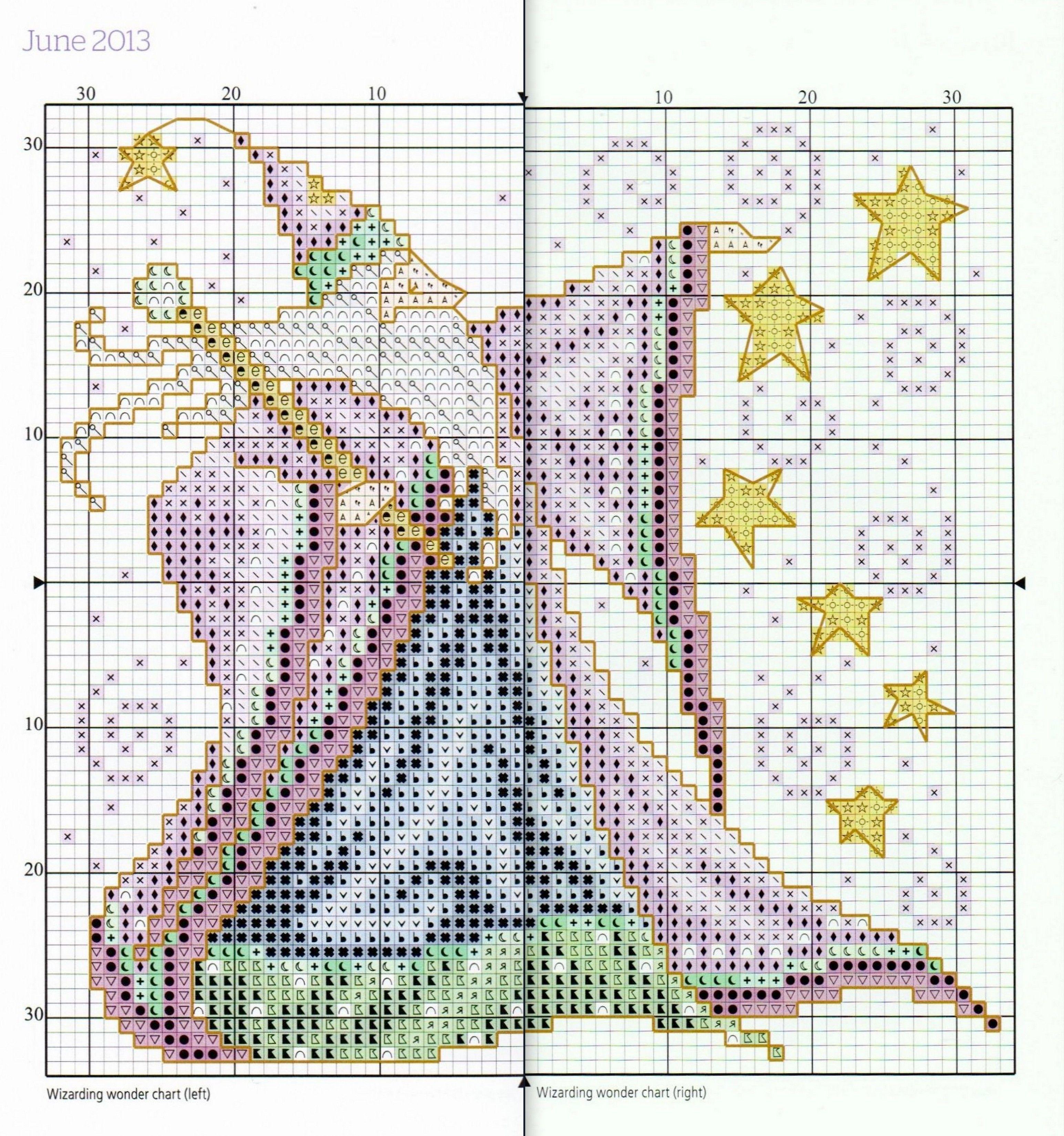 Wizarding wonder chart june from joan elliotts 2013 wizarding wonder chart june from joan elliotts 2013 stitchers diary madeira threadcross nvjuhfo Images