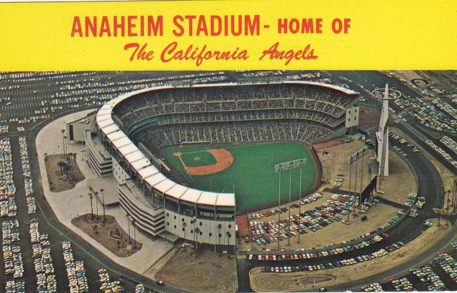 Anaheim Stadium postcard images | Recent Photos The Commons Getty Collection Galleries World Map App ...