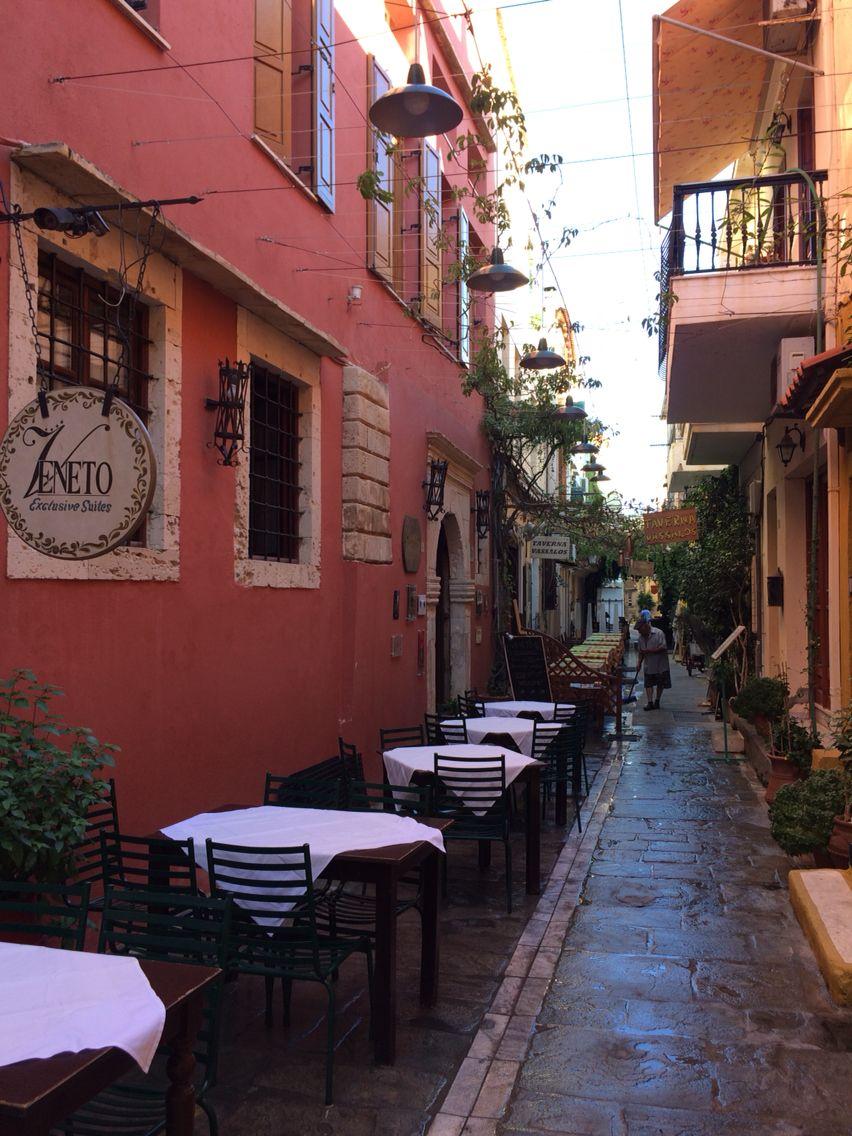 Morning in Rethymno