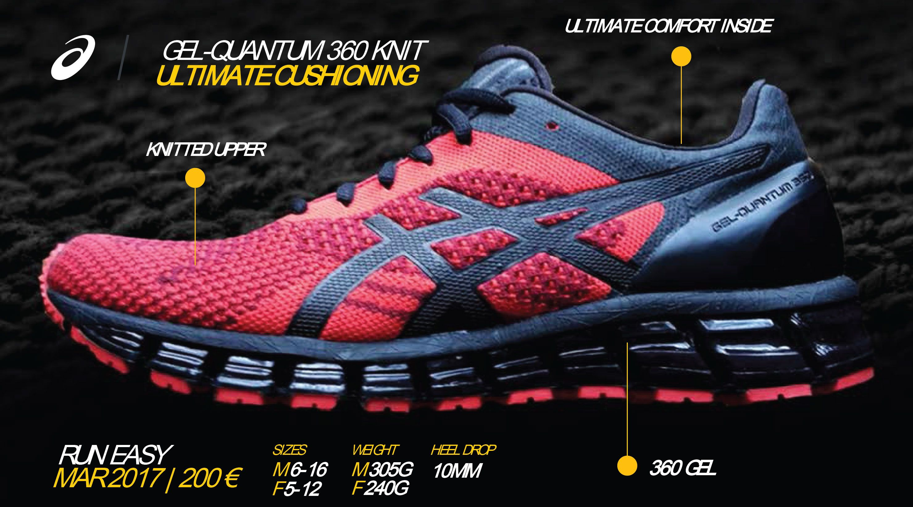 size 40 ba90f 2c9d4 FIND ADVENTURE IN THE GEL-QUANTUM 360 KNIT | Fitness | Asics ...