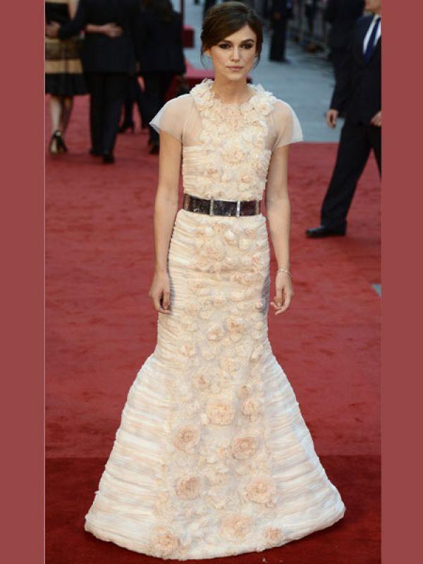 Keira Knightley in Chanel. So pretty! <3