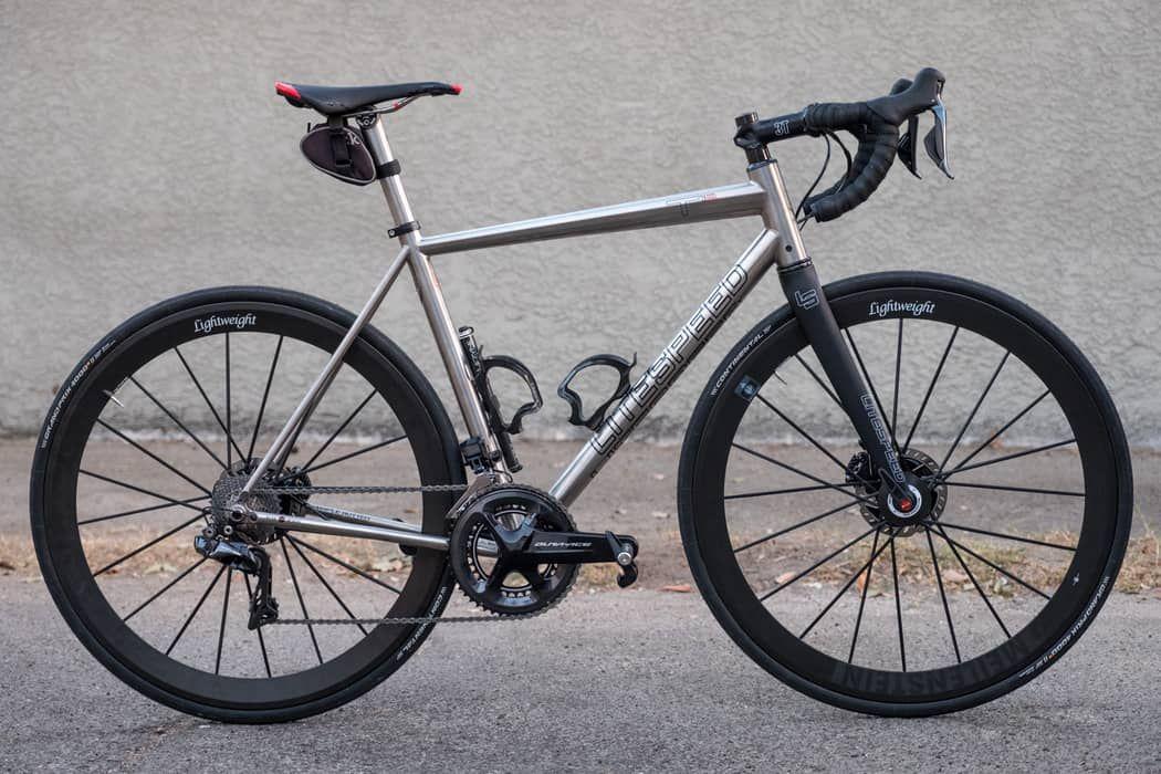 First Ride Litespeed T1sl Disc Titanium Road Bike Cyclocross Bike Litespeed