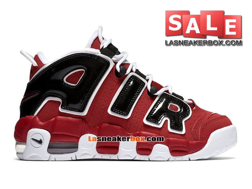 b7a38898d7 ... france boutique officiel nike air more uptempo homme rouge intense  blanc noir 95d96 92f8a