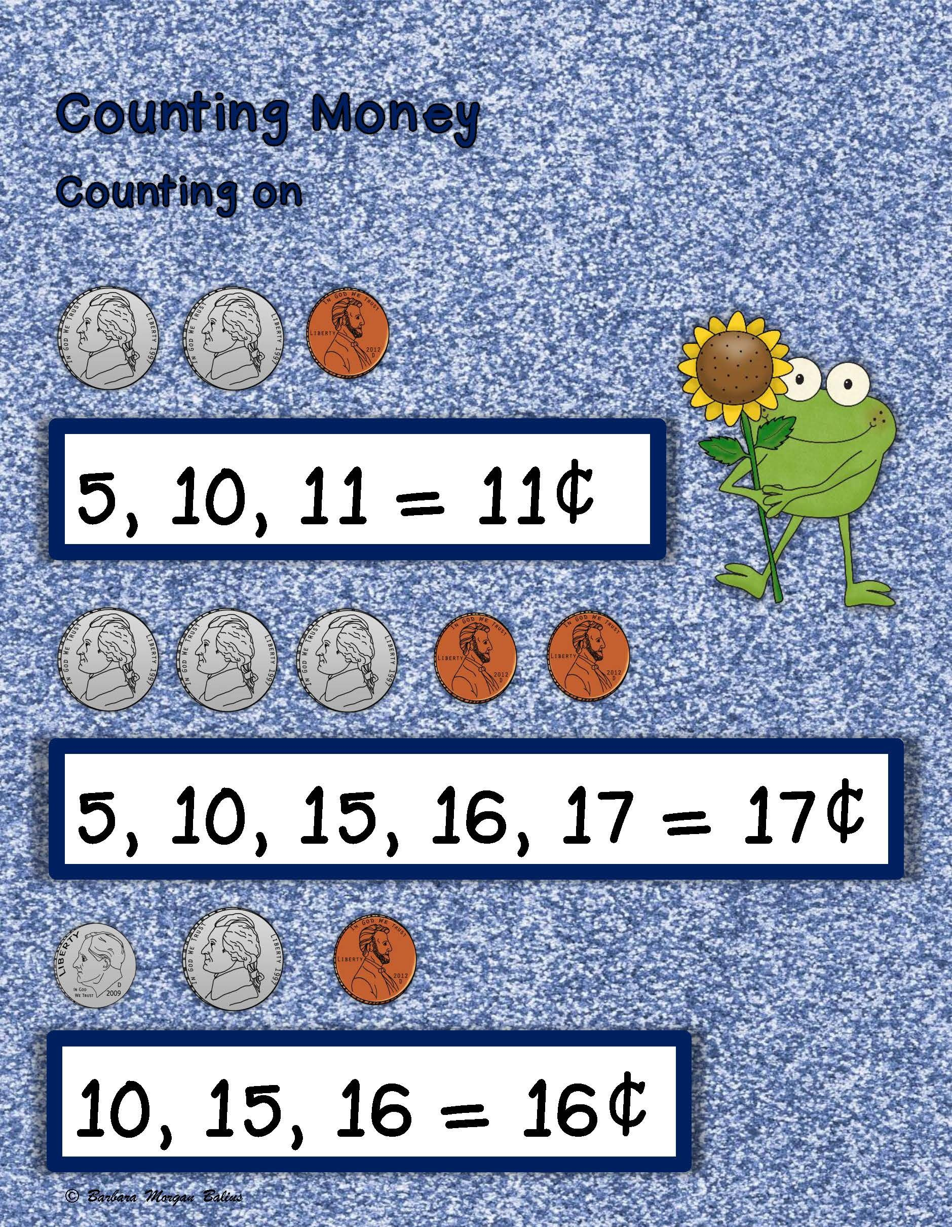 Counting Money Telling Time First Grade Math Time and Money ...
