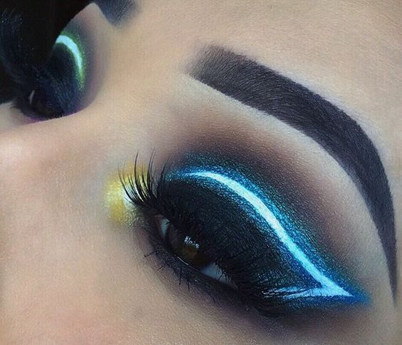 Amazing Make Up maquillaje neon xv Pinterest Makeup, Eye and
