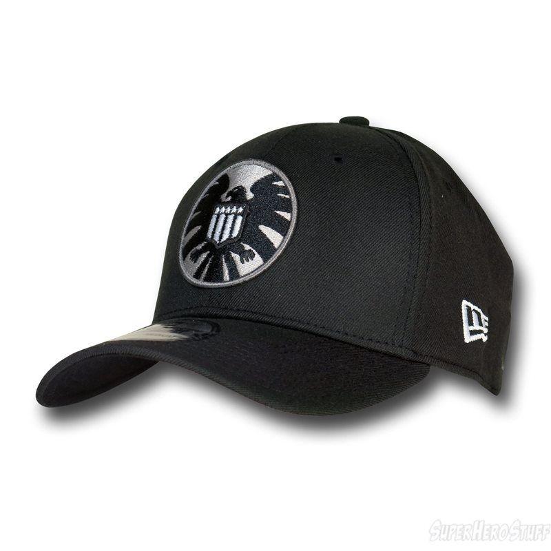 1d51c3d748bfc Images of S.H.I.E.L.D. Symbol Black 39Thirty Cap