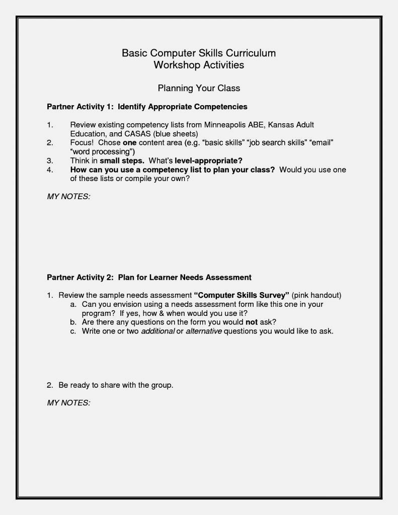 Computer Skills Resume Examples Brilliant Pinsandy Kuncoro On Cv  Pinterest  Template
